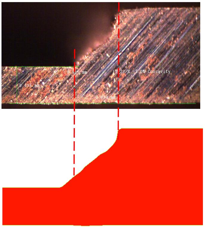 溶接接合_レーザ溶接_解析結果_CASE1