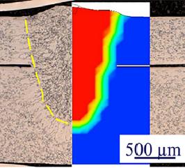溶接接合_亜鉛めっき鋼材におけるレーザ螺旋溶接でのスパッタ