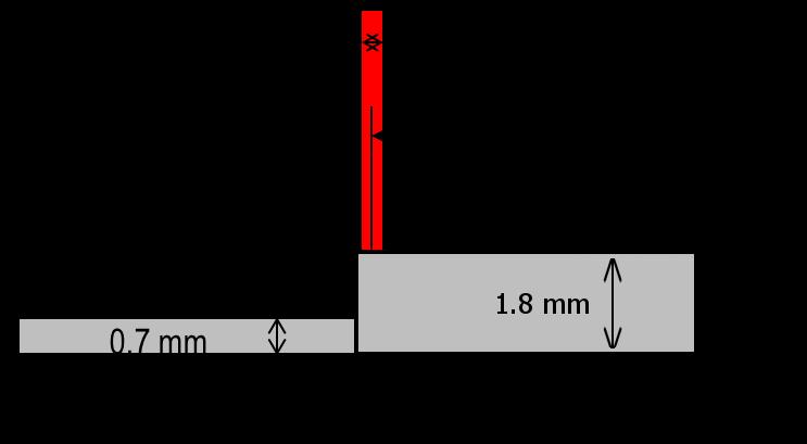 溶接接合_レーザ溶接_解析モデル_CASE1
