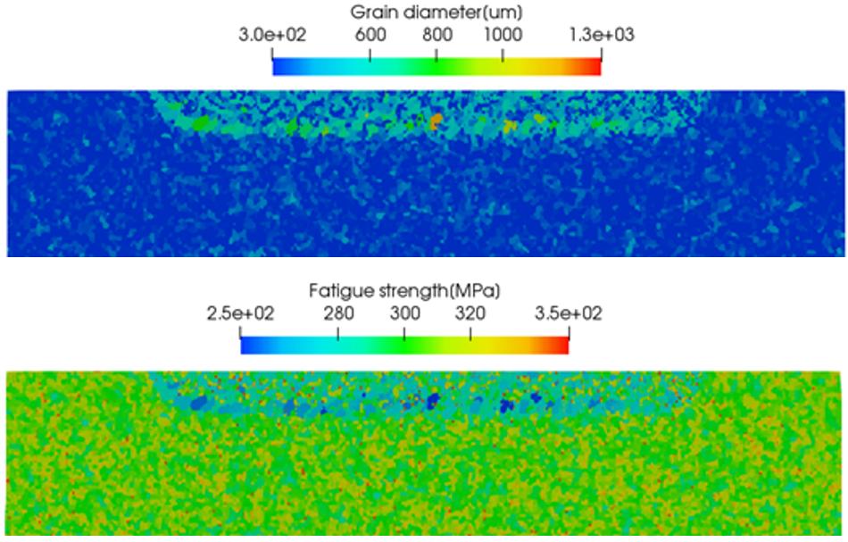 結晶成長シミュレーション_冷却速度の影響
